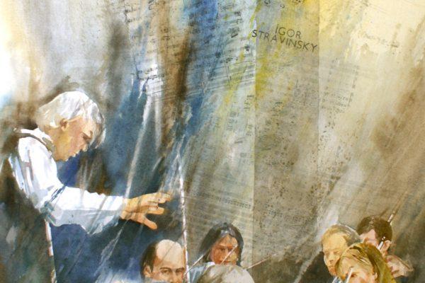 Igor Stravinsky Arches 635g - Ft.120x 75cm