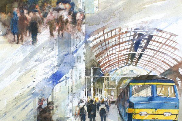 Heen en weer, Antwerp Centraal station