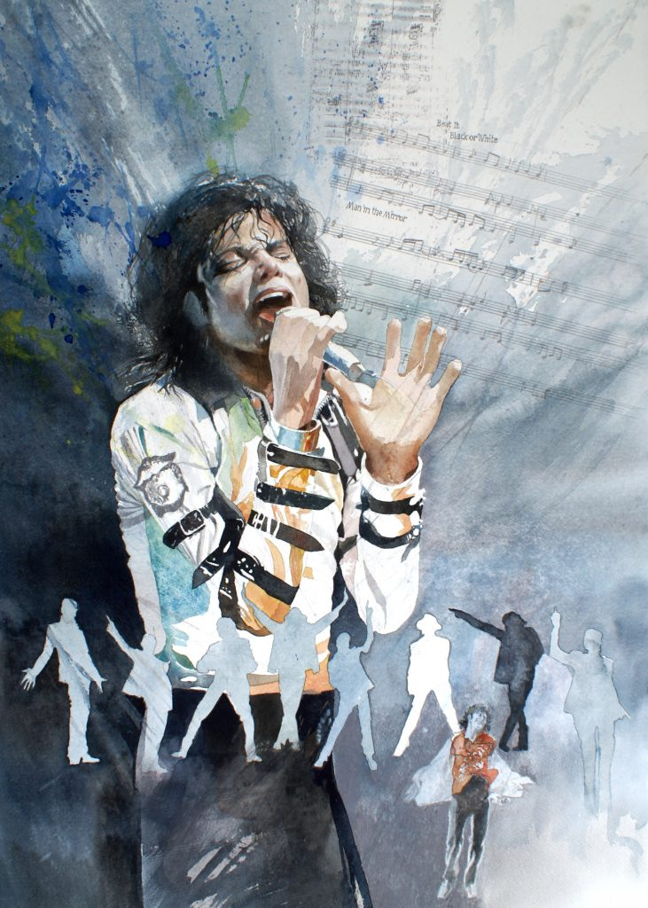 King of Pop. Fabriano 635g - Ft. 76x56cm