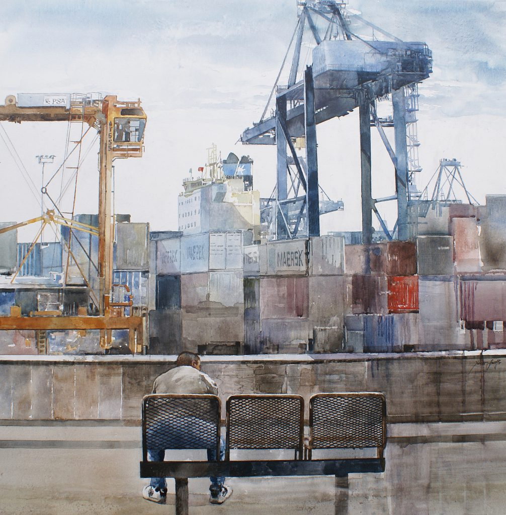 Containers. Aqualinne - Ft. 100x100cm