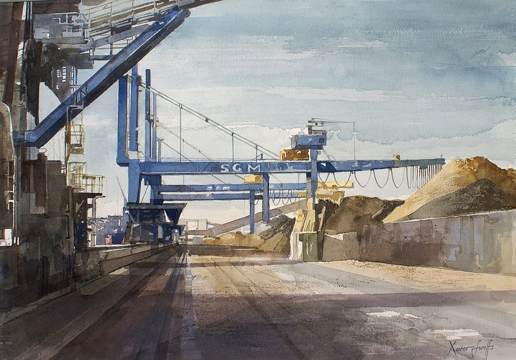 Port of Antwerp Arches 300g - Ft. 56x45cm