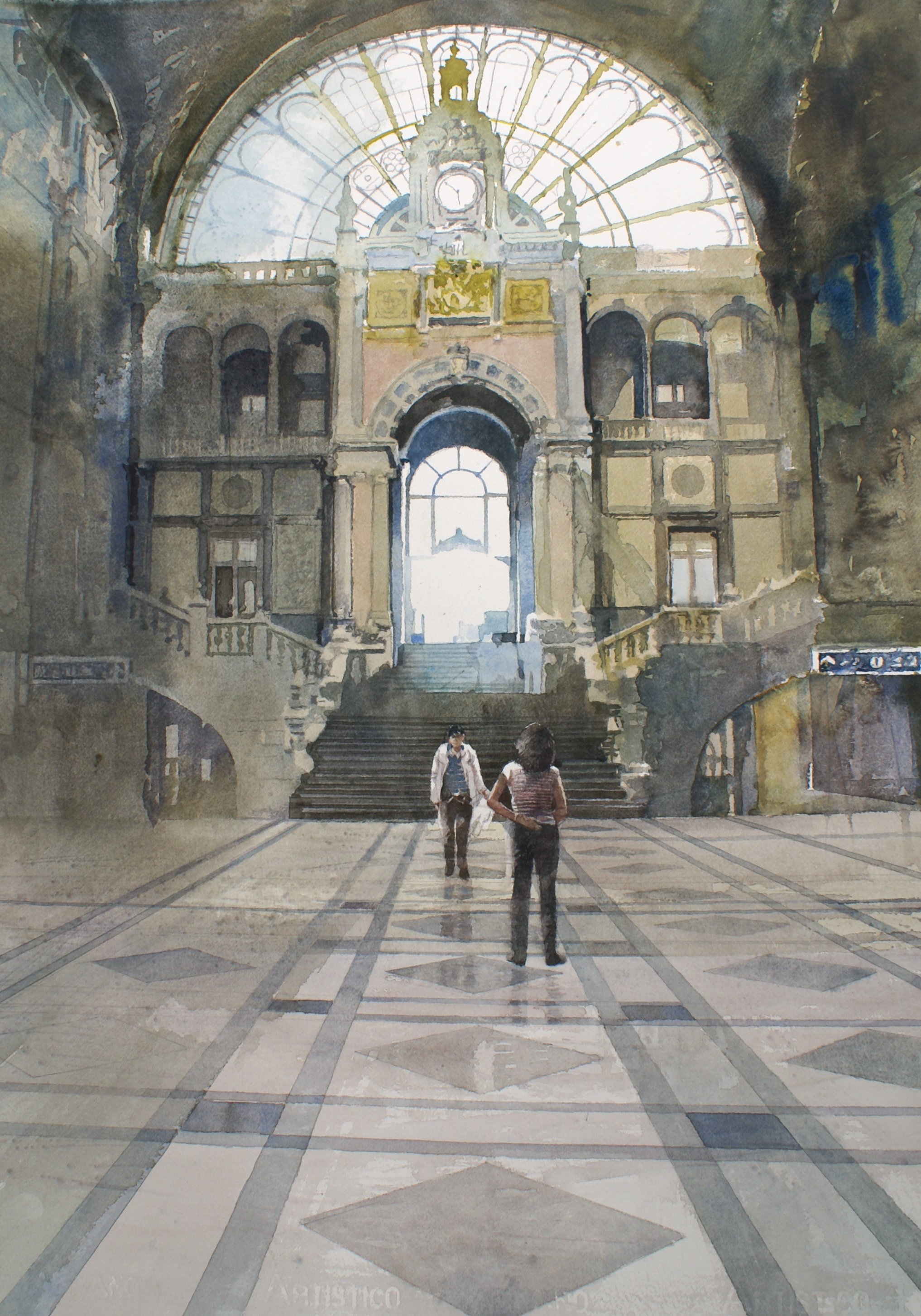Ontmoeting in het Centraal Station Antwerpen : Xavier Swolfs